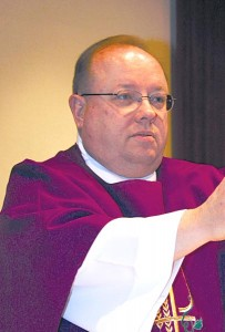 Father Dave Zimmer is pastor of St. John the Apostle in Minot, N.D.